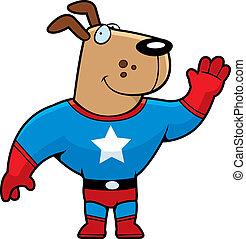 superhero, chien