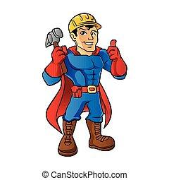 superhero, factótum