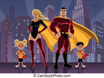 Superhero Family 2