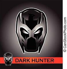 Black Mask. Racer. Rider. Pilot. Superhero. Villain.