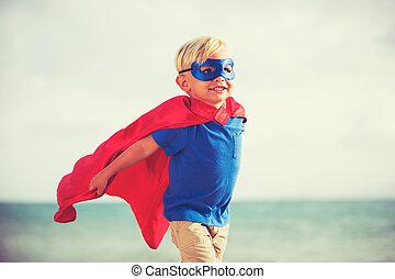 superhero, kind