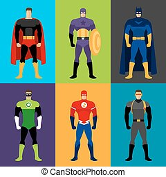 superhero, kostuums