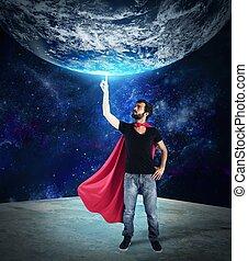 Superhero of the world