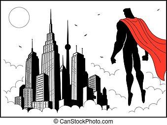 superhero, orologio, 4