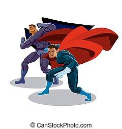 superhero, squadra