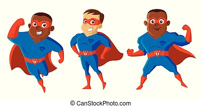 Superheroes Cartoon character