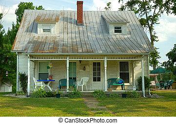 superior, bungalow, -, fijador, país