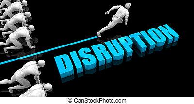 Superior Disruption Concept with Competitive Advantage