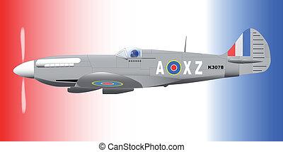 Supermarine Spitfire - A Supermarine World War II Spitfire...