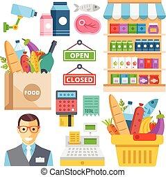 Supermarket equipment, products - Supermarket equipment,...