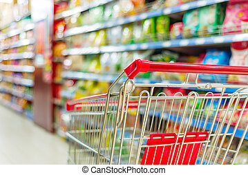 supermarket, wóz