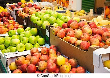 supermercado, fruits