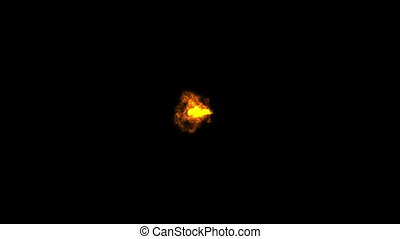Supernova burst in deep space - Supernova burst in the deep...