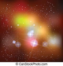 supernova, zewnętrzna przestrzeń