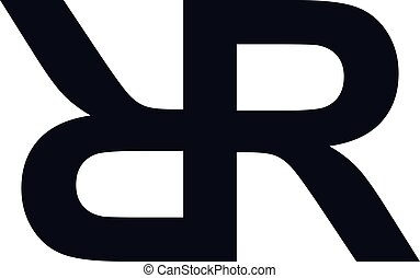superpuesto, inicial, carta, logotipo, logotype, tema,...