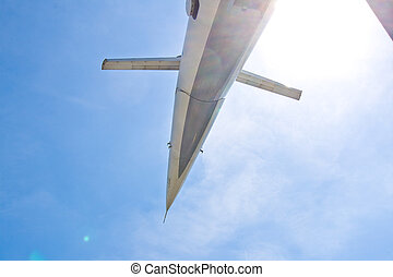 supersonic aircraft Tupolev TU-144 - supersonic aircraft...
