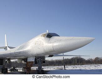 Supersonic strategic bomber Tupolev Tu-160