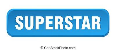 superstar button. superstar square 3d push button