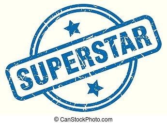 superstar grunge stamp - superstar round vintage grunge ...