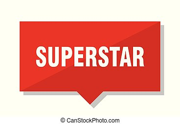 superstar red tag - superstar red square price tag