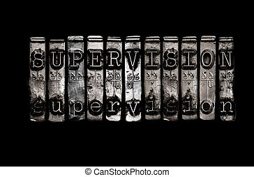 Supervision concept
