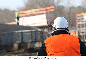 supervisor, bouwterrein