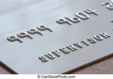 Supervisor card