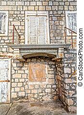 Supetar old stone house