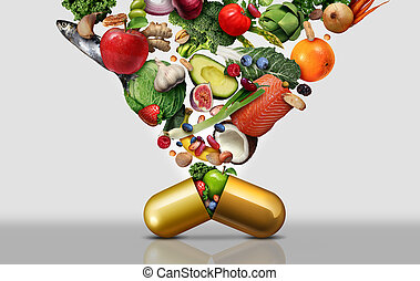 suplemento dietético, vitamina