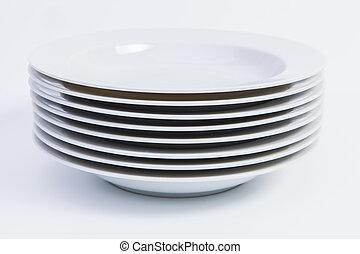 Suppenteller - Teller gestapelt