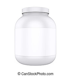 Supplement Bottle Isolated - Supplement Bottle isolated on ...