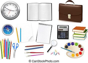 supplies., ufficio affari