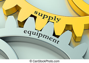 Supply Equipment concept on the gearwheels
