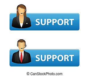 Support buttons