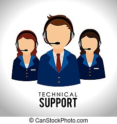 Support design over white background,vector illustration