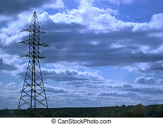 Support of the electricity
