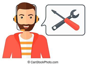 support., operator, techniczny
