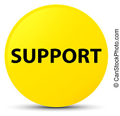 Support yellow round button