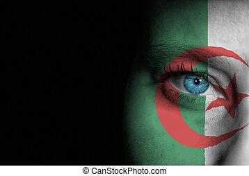 Supporter of Algeria