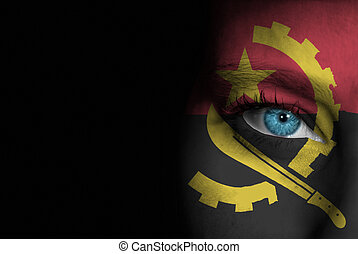 Supporter of Angola