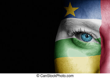 Supporter of Central African Republic