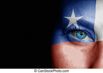 Supporter of Chile