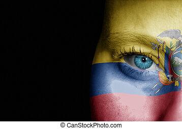 Supporter of Ecuador