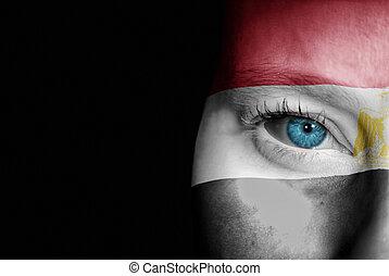 Supporter of Egypt