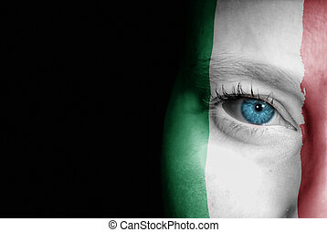 Supporter of Italy