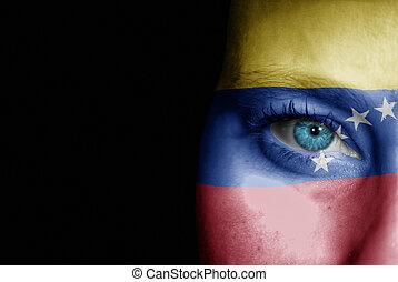 Supporter of Venezuela