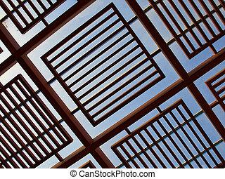 Raggi legno veranda raggi pietra legno for Disegni veranda anteriore