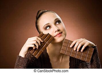 supreme., chocolat