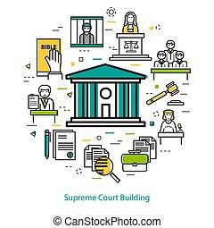 Supreme Court Building - round concept