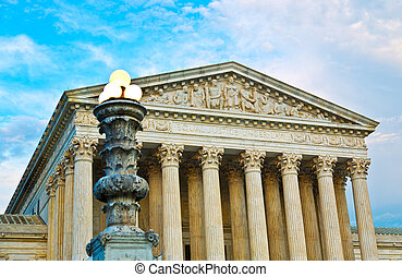 Supreme Court Building Washington DC
